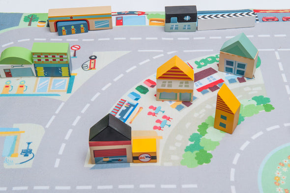 First Town Playmat, Learn & Explore, Le Toy Van, Little Toy Lane - Little Toy Lane