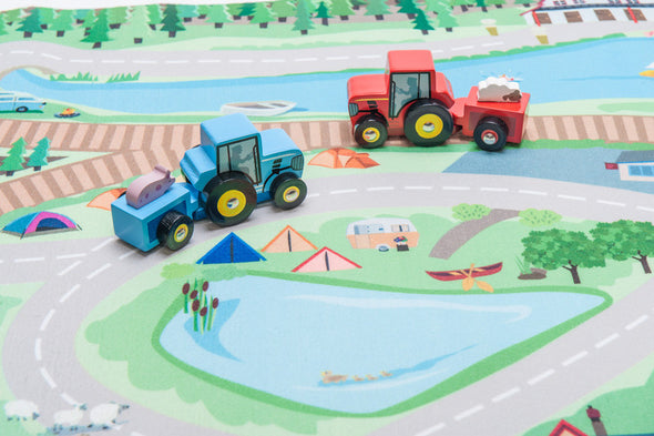 First Country Playmat, Learn & Explore, Le Toy Van, Little Toy Lane - Little Toy Lane