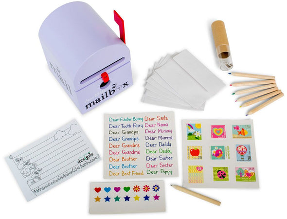 MailBox with writing kit, , Dear Little Designs, Little Toy Lane - Little Toy Lane