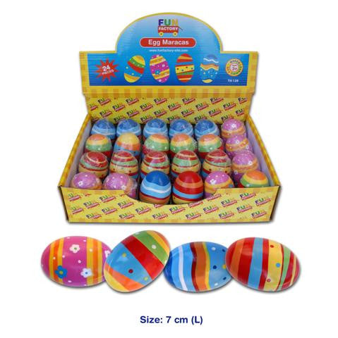 Egg maracas, Music, Fun Factory, Little Toy Lane - Little Toy Lane