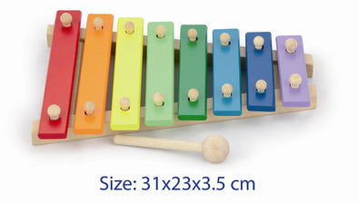 Xylophone - Wooden, , Viga, Little Toy Lane - Little Toy Lane