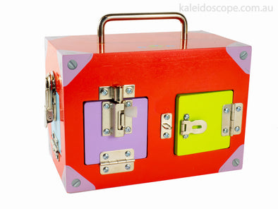 Lock Activity Box, Learn & Explore, Mamagenius, Little Toy Lane - Little Toy Lane
