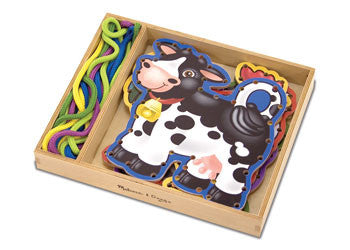 Melisssa & Doug - Lace & Trace, Learn & Explore, Melissa & Doug, Little Toy Lane - Little Toy Lane