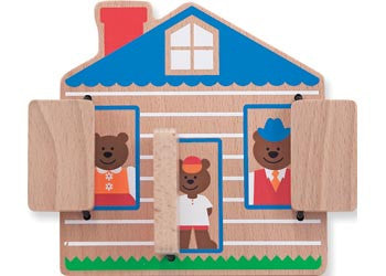 M&D – Peek-A-Boo House, Learn & Explore, Melissa & Doug, Little Toy Lane - Little Toy Lane