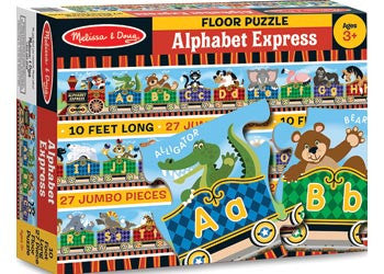 Melissa & Doug - Alphabet Express Floor Puzzle 27 pce, Puzzles, Melissa & Doug, Little Toy Lane - Little Toy Lane