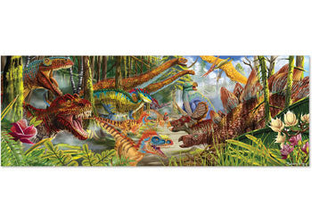 Melissa & Doug - Dinosaur World Floor Puzzle - 200pc, Puzzles, Melissa & Doug, Little Toy Lane - Little Toy Lane