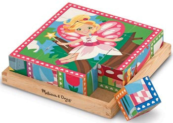 Melissa & Doug - Cube Puzzle - Princess & Fairies, Puzzles, Melissa & Doug, Little Toy Lane - Little Toy Lane