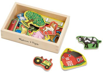 Melissa & Doug – Magnets In A Box Of 20, Learn & Explore, Melissa & Doug, Little Toy Lane - Little Toy Lane