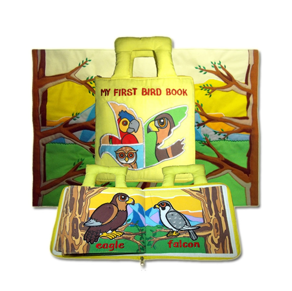 First Bird Book, Cloth Books, Dyles, Little Toy Lane - Little Toy Lane