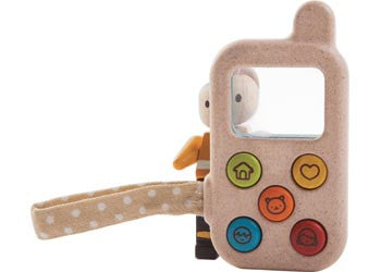 PlanToys – Baby Phone, Learn & Explore, Modern Brands, Little Toy Lane - Little Toy Lane