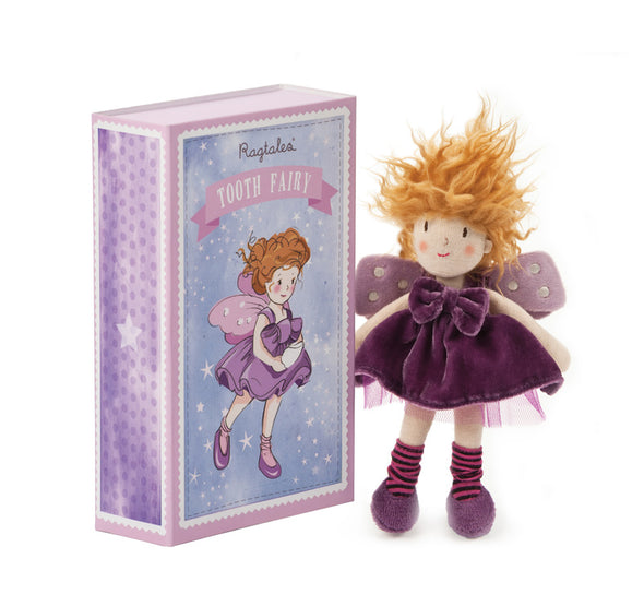 Tooth Fairy Girl, Cloth Doll, Kaleidoscope, Little Toy Lane - Little Toy Lane