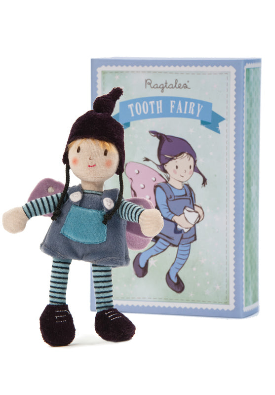 Tooth Fairy Boy, Cloth Doll, Kaleidoscope, Little Toy Lane - Little Toy Lane