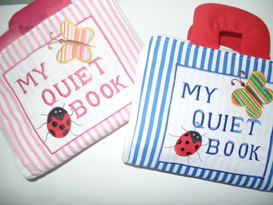 My Quiet Book - Cloth Book (BACKORDER ONLY), Cloth Books, Dyles, Little Toy Lane - Little Toy Lane