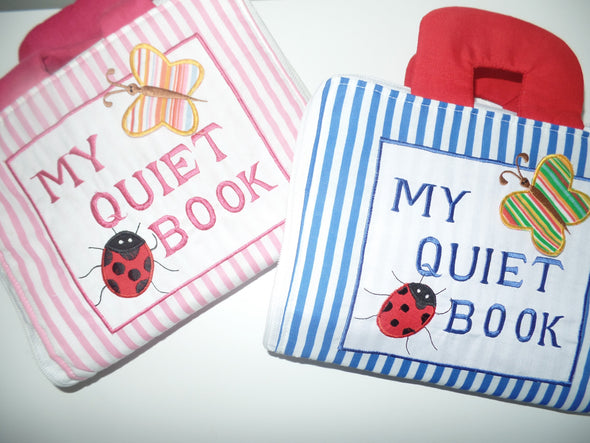 My Quiet Book - Cloth Book, Cloth Books, Dyles, Little Toy Lane - Little Toy Lane