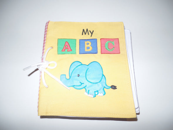 ABC Book, Cloth Books, Dyles, Little Toy Lane - Little Toy Lane