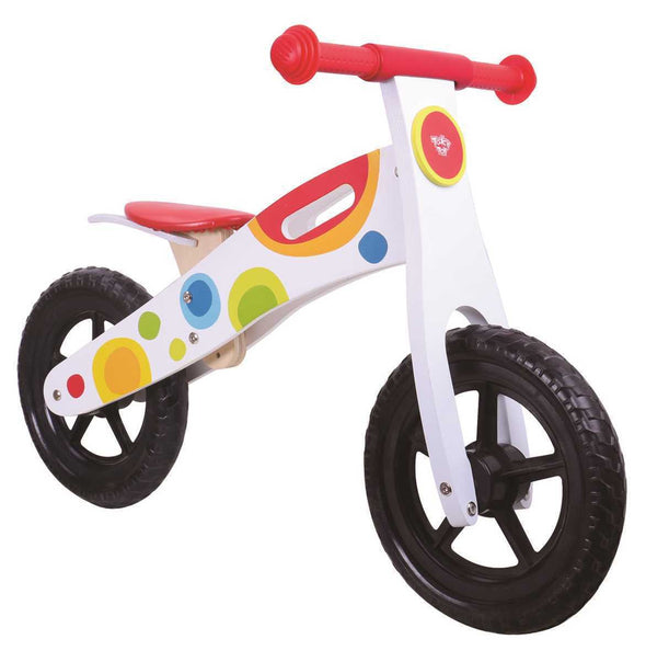 Wooden Balance Bike, Balance Bikes, Eleganter, Little Toy Lane - Little Toy Lane