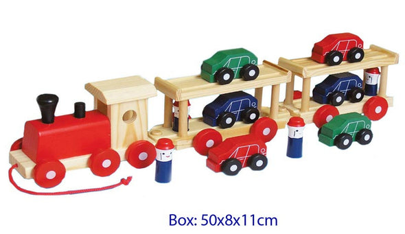 Semi Trailer, Learn & Expore, Fun Factory, Little Toy Lane - Little Toy Lane