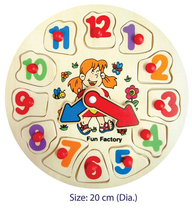 Puzzle Clock, Puzzles, La Belle Toys, Little Toy Lane - Little Toy Lane