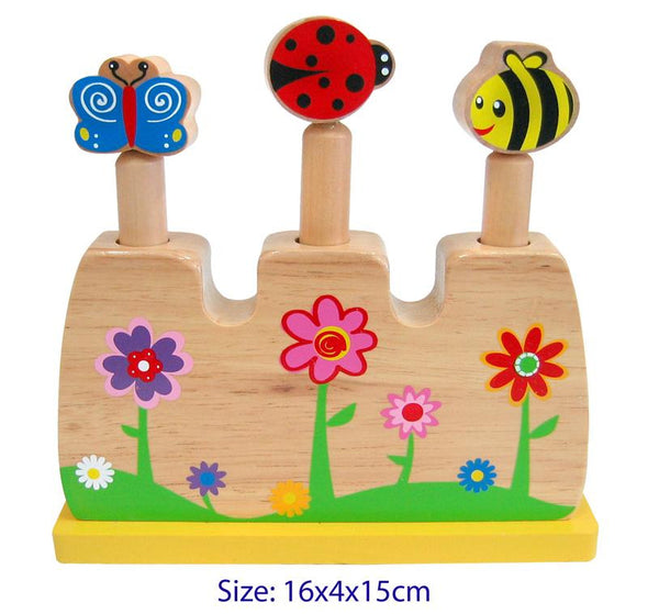 Pop Up Flower Toy, Learn & Expore, La Belle Toys, Little Toy Lane - Little Toy Lane