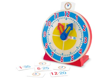Melissa & Doug Turn & Tell clock, , Melissa & Doug, Little Toy Lane - Little Toy Lane