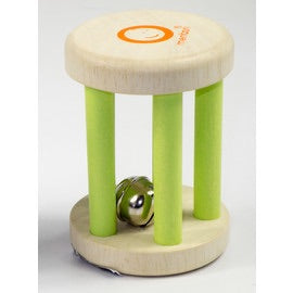 My Bell Green Rattle, , Kaleidoscope, Little Toy Lane - Little Toy Lane