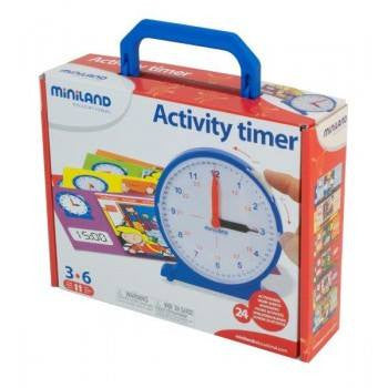 Miniland aptitude activity timer 13pcs, Learn & Explore, Miniland, Little Toy Lane - Little Toy Lane