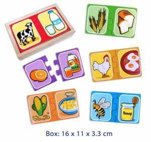 Make a pair, Puzzles, La Belle Toys, Little Toy Lane - Little Toy Lane