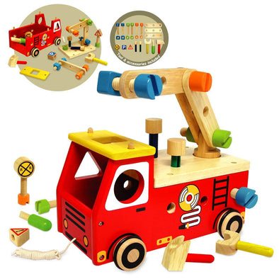 Fire Fighter Builder, Build it,Learn & Expore, I'm Toy, Little Toy Lane - Little Toy Lane