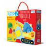 Construction Vehicles & Shapes book, , Sassi, Little Toy Lane - Little Toy Lane