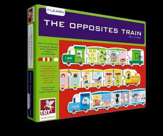 The Opposites Train, , Little Toy Lane, Little Toy Lane - Little Toy Lane
