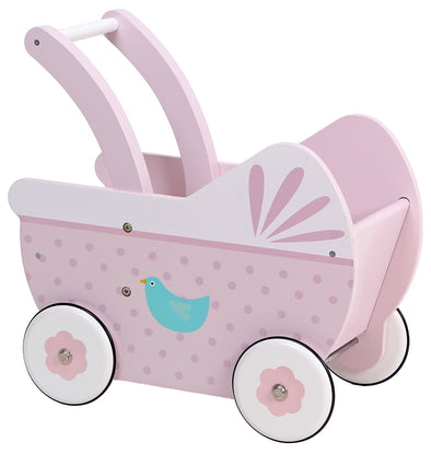 Wooden Pram, , Little Toy Lane, Little Toy Lane - Little Toy Lane