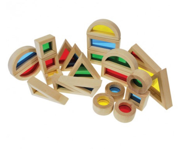 Colour blocks - set of 24, , Learning Experience, Little Toy Lane - Little Toy Lane