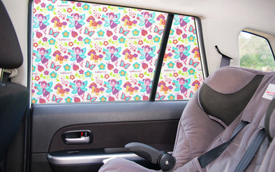 Toddler Tints - The Funky Car Shade, Travel Accessories, Little Toy Lane, Little Toy Lane - Little Toy Lane