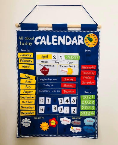 All About Today Calendar - Pre Order