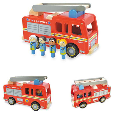 Freddie Fire Engine, Learn & Explore, Artiwood, Little Toy Lane - Little Toy Lane