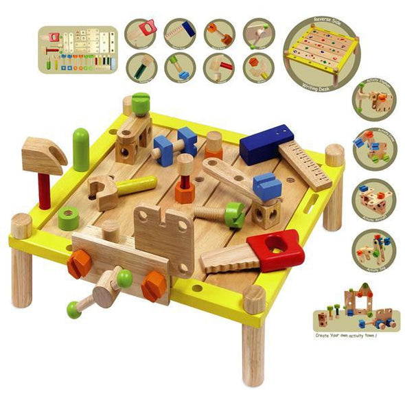 Activity Work Bench, Build it,Learn & Expore, I'm Toy, Little Toy Lane - Little Toy Lane