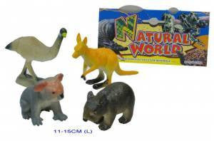 Australian Animals- 4 Pcs, Learn & Expore, Natural World, Little Toy Lane - Little Toy Lane