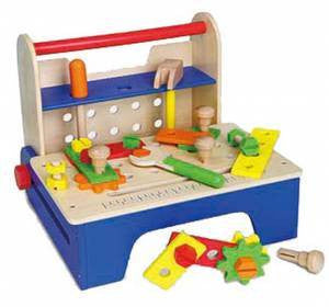 Fold up tool bench, Build it,Learn & Expore, Viga, Little Toy Lane - Little Toy Lane