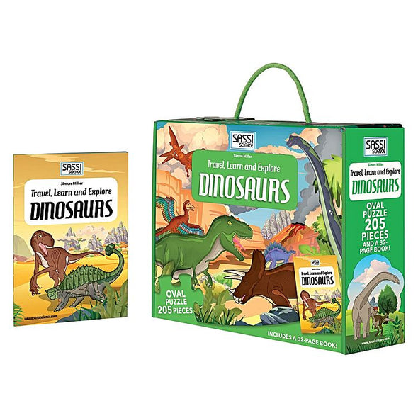 Sassi Travel, Learn and Explore - Dinosaurs, Educational Games, Sassi, Little Toy Lane - Little Toy Lane