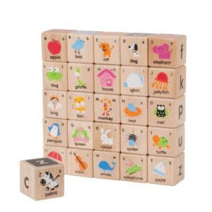 Wonder ABC Blocks- Backorder only, Learn & Explore, Wonderworld, Little Toy Lane - Little Toy Lane