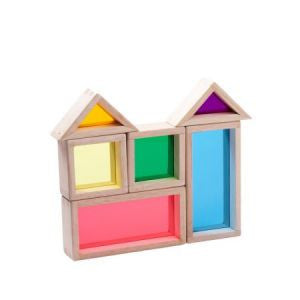 Rainbow Blocks, Learn & Explore, Wonderworld, Little Toy Lane - Little Toy Lane