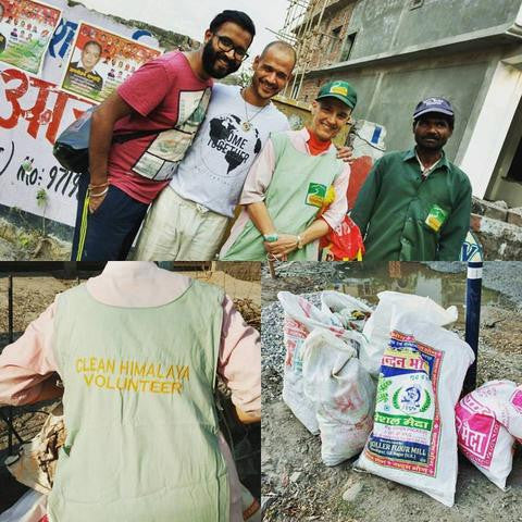 Volunteering with Clean Himalaya
