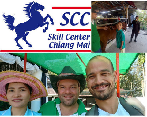 Volunteering at Skill Center Chiang Mai