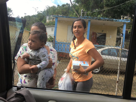 volunteer in Puerto rico