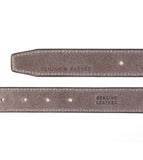 Textured Leather Belt Light Brown