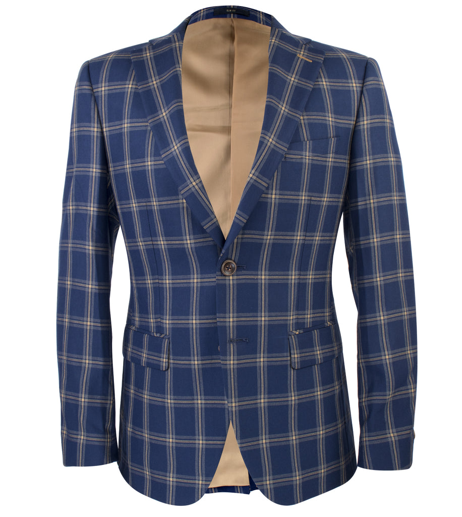 Junya Plaid Blazer