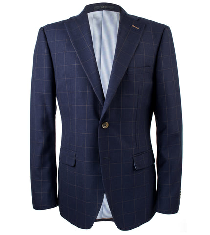 Hanae Windowpane Suit