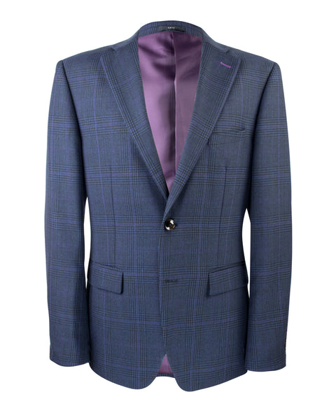 Ishiguro Glen Plaid Suit