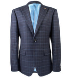 Awazu Charcoal Plaid Suit