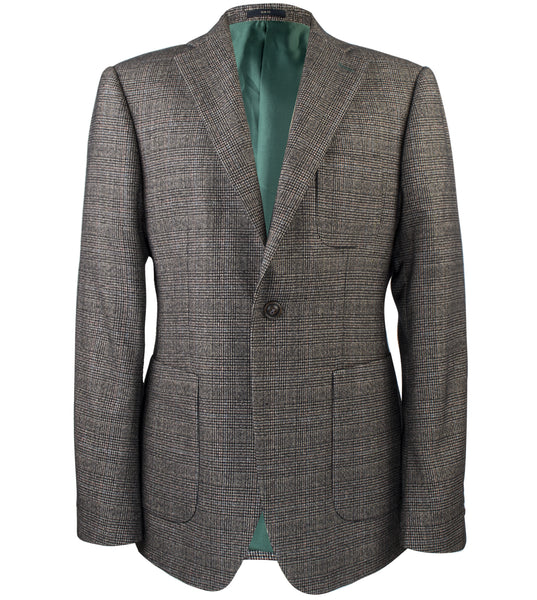 Tatsuo Ash Glen Plaid Suit